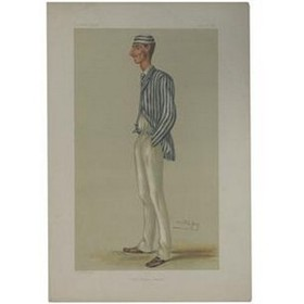 "SPOFFORTH, FREDERICK ROBERT (""THE DEMON BOWLER"") 1878 VANITY FAIR PRINT"