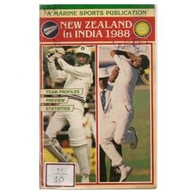 NEW ZEALAND IN INDIA 1988