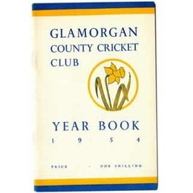GLAMORGAN COUNTY CRICKET CLUB YEAR BOOK 1954