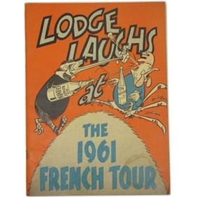 LODGE LAUGHS AT THE 1961 FRENCH TOUR