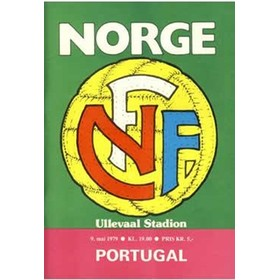 NORWAY V PORTUGAL 1979 FOOTBALL PROGRAMME