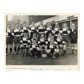BARBARIANS 1958 RUGBY PHOTOGRAPH