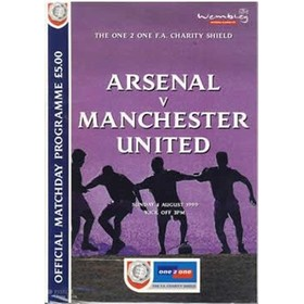 ARSENAL V MANCHESTER UNITED 1999 (CHARITY SHIELD) FOOTBALL PROGRAMME