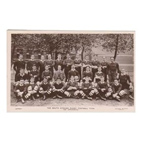 SOUTH AFRICA 1906 RUGBY POSTCARD