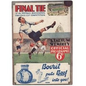 ARSENAL V NEWCASTLE UNITED 1932 (F.A. CUP FINAL) FOOTBALL PROGRAMME