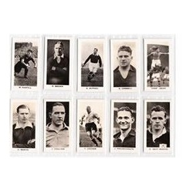 ENGLISH & SCOTTISH FOOTBALL STARS 1935 (SINCLAIR)