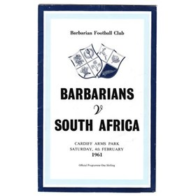 BARBARIANS V SOUTH AFRICA 1961