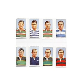 RUGBY INTERNATIONALS 1935 - CHURCHMAN CIGARETTE CARDS