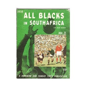 ALL BLACKS IN SOUTH AFRICA 1970 (VOL II)