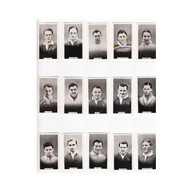BRITISH RUGBY PLAYERS 1930 (NEW ZEALAND ISSUE) WILLS cigarette cards