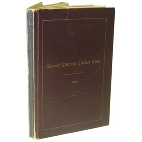 SURREY COUNTY CRICKET CLUB 1923 [HANDBOOK]