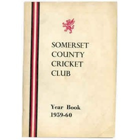 SOMERSET COUNTY CRICKET CLUB YEARBOOK 1959-60