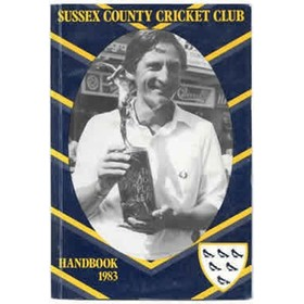 SUSSEX COUNTY CRICKET CLUB HANDBOOK 1983