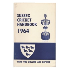 OFFICIAL SUSSEX CRICKET HANDBOOK 1964