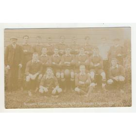 REDRUTH 1907-08 RUGBY POSTCARD