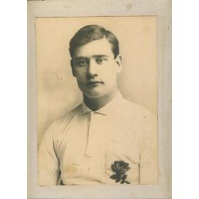 BERT SOLOMON (REDRUTH, CORNWALL & ENGLAND) RUGBY PHOTOGRAPH