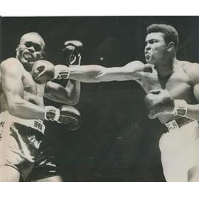 MUHAMMAD ALI V DOUG JONES 1963 PRESS PHOTOGRAPH