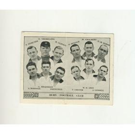 BURY F.C. BARRATT TEAM FOLDER