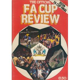 THE OFFICIAL F.A. CUP REVIEW 1981
