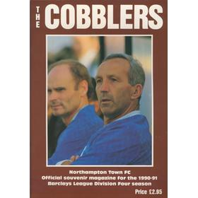 THE COBBLERS - NORTHAMPTON TOWN FC OFFICIAL SOUVENIR MAGAZINE 1990-91