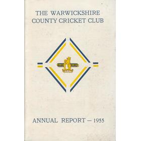 WARWICKSHIRE COUNTY CRICKET CLUB ANNUAL REPORT 1955