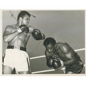 MUHAMMAD ALI V AL LEWIS 1972 PRESS PHOTOGRAPH