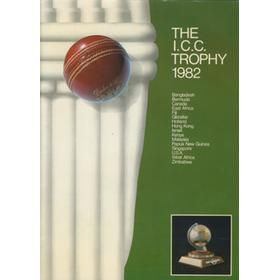 THE I.C.C. TROPHY 1982 TOURNAMENT BROCHURE