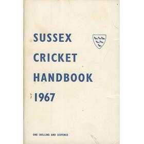 OFFICIAL SUSSEX CRICKET HANDBOOK 1967