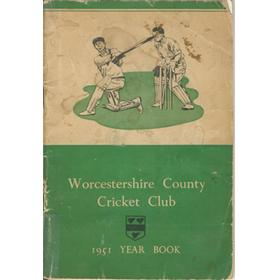 WORCESTERSHIRE COUNTY CRICKET CLUB YEAR BOOK 1951