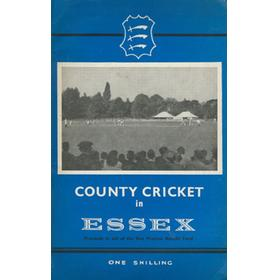 COUNTY CRICKET IN ESSEX - KEN PRESTON