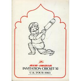 AIR-INDIA INVITATION CRICKET XI (UNITED ARAB EMIRATES) U.K. TOUR 1983