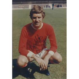 BRIAN KIDD SIGNED PHOTOGRAPH