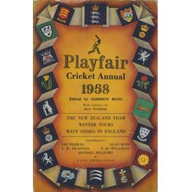 PLAYFAIR CRICKET ANNUAL 1958