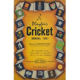 PLAYFAIR CRICKET ANNUAL 1961