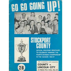 GO GO GOING UP! - STOCKPORT COUNTY 1966-67
