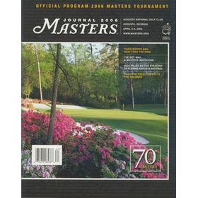 MASTERS 2006 (AUGUSTA) OFFICIAL GOLF PROGRAMME