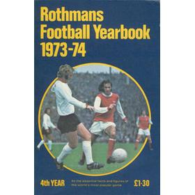 Rothmans Football Yearbook 1973-74 4th Year Softback Book Soccer Journal Almanac