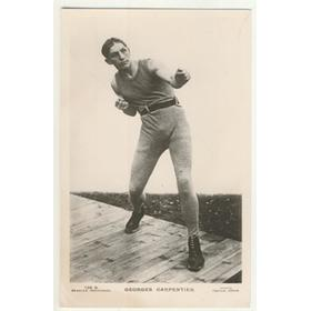 GEORGES CARPENTIER (FRANCE) BOXING POSTCARD