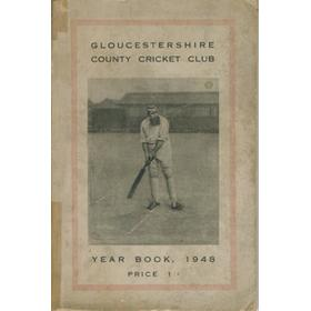 GLOUCESTERSHIRE COUNTY CRICKET  CLUB YEAR BOOK 1948