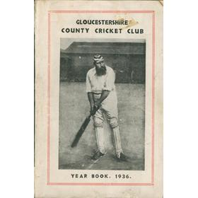 GLOUCESTERSHIRE COUNTY CRICKET CLUB  YEAR BOOK 1936