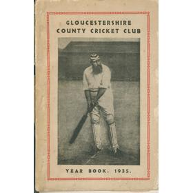 GLOUCESTERSHIRE COUNTY CRICKET CLUB  YEAR BOOK 1935