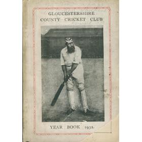 GLOUCESTERSHIRE COUNTY CRICKET CLUB  YEAR BOOK 1932