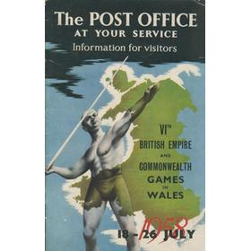 BRITISH EMPIRE AND COMMONWEALTH GAMES 1958 INFORMATION FOR VISITORS