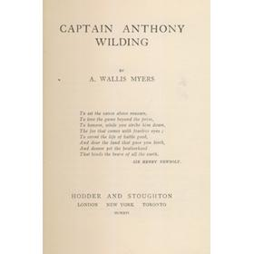 CAPTAIN ANTHONY WILDING