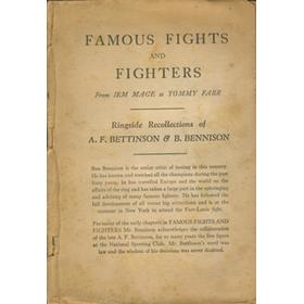 FAMOUS FIGHTS AND FIGHTERS: FROM JEM MACE TO TOMMY FARR