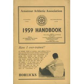 AMATEUR ATHLETIC ASSOCIATION HANDBOOK 1959
