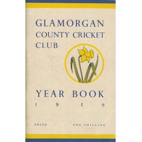 GLAMORGAN COUNTY CRICKET CLUB YEAR BOOK 1959