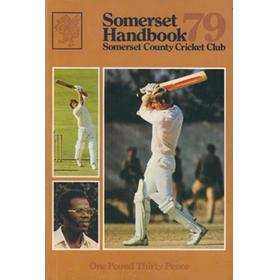 SOMERSET COUNTY CRICKET CLUB YEARBOOK 1979
