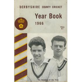 DERBYSHIRE COUNTY CRICKET YEAR BOOK 1966
