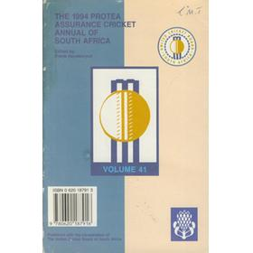 THE 1994 PROTEA CRICKET ANNUAL OF SOUTH AFRICA